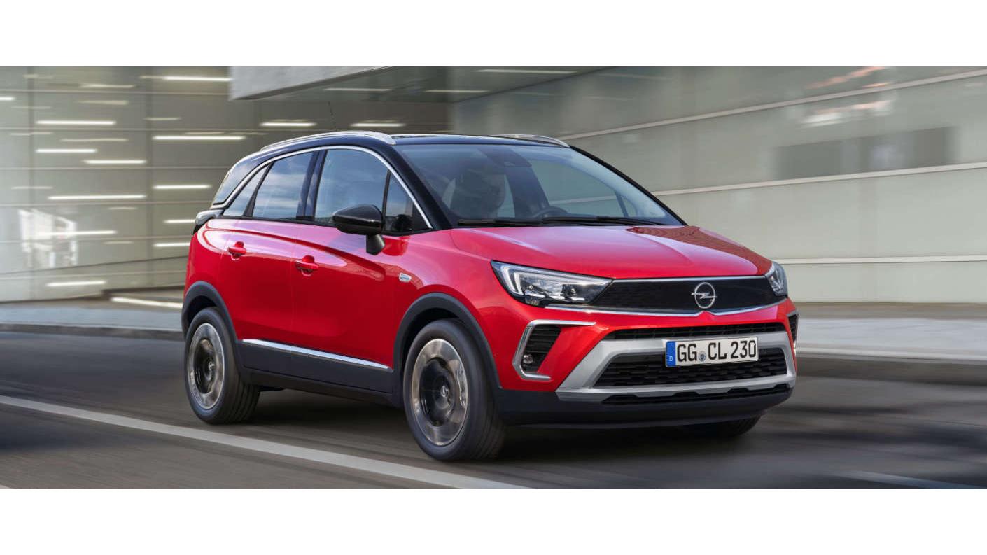 Кросовер Opel Crossland 2021 в Україні: більше версій, більше оригінальності, менші ціни