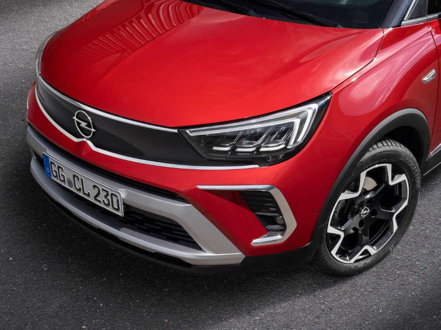 Opel Crossland, світлодіодні фари