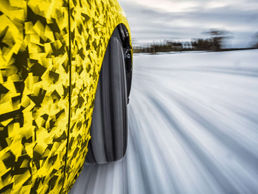 Opel Astra, нове покоління, випробування