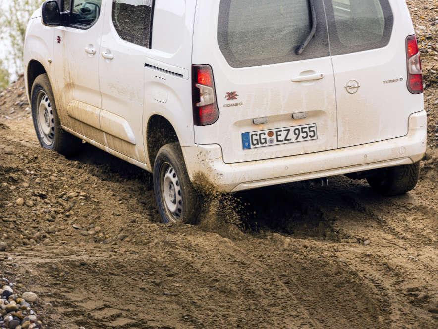 Фургон Opel Combo Cargo, вигляд ззаду