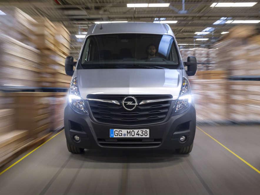 Opel Movano, вигляд спереду