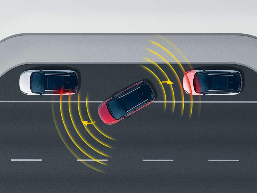 Opel Crossland, Система паркування Park Assistant