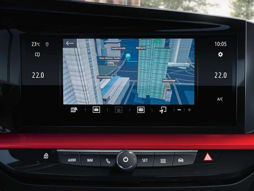 Opel, Mokka, навігаційна система