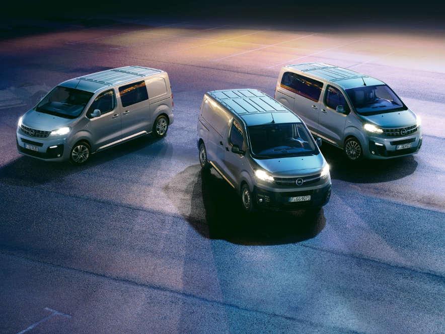 Opel, Vivaro, модельний ряд, зовнішній вигляд