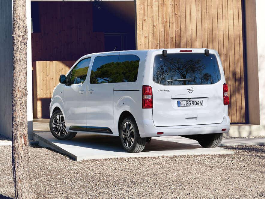 Opel, Zafira Life, зовнішній вигляд