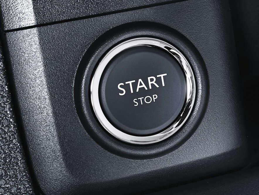 Opel, Zafira Life, безключовий доступ, пуск двигуна кнопкою